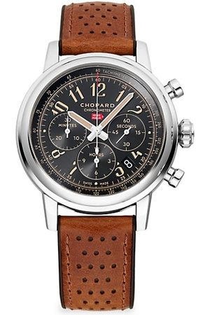Chopard Mille Miglia Classic Chronograph Raticosa Stainless Steel & Leather Strap Watch