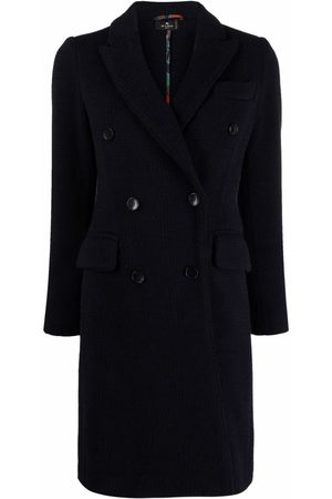 ETRO Double-breasted cashmere coat