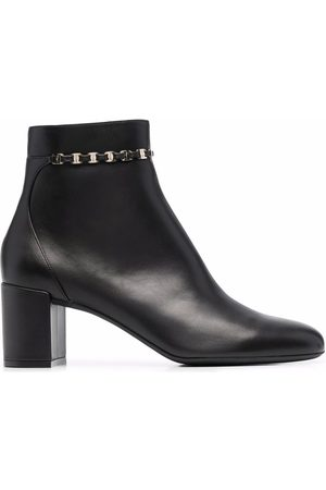 Salvatore Ferragamo Vara chain ankle boots