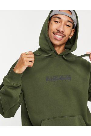 Napapijri Box hoodie in khaki