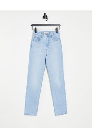 Levi's Women Straight - Levi's 70's straight leg jeans in light wash