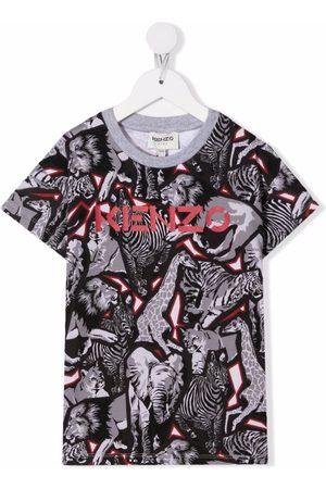 Kenzo Jungle print T-shirt