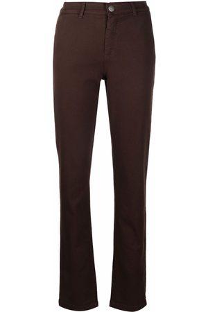 Federica Tosi Slim-cut mid-rise trousers