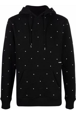 Soulland Wallance polka-dot hoodie