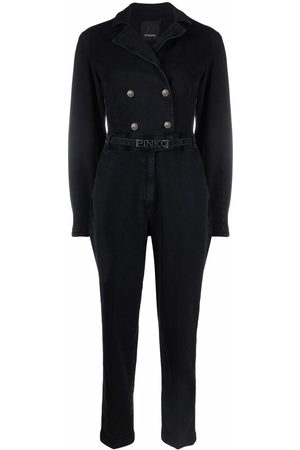 Pinko Double-breasted belted jumpsuit