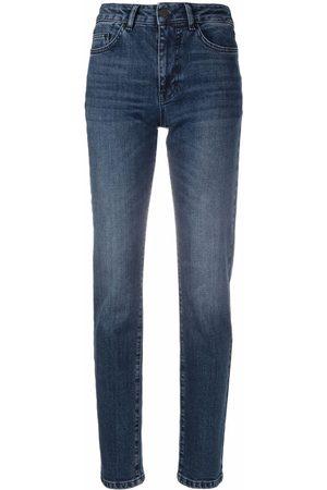 Karl Lagerfeld High-rise skinny-cut jeans
