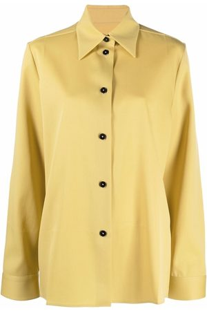 Jil Sander Pointed collar buttoned blouse