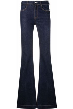Stella McCartney Women Bootcut & Flares - High-waisted flared jeans