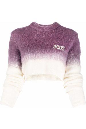 Gcds Gradient-effect cropped jumper