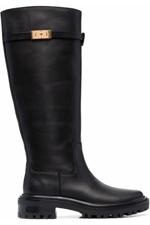 Tory Burch Women Knee High Boots - Knee-length leather boots