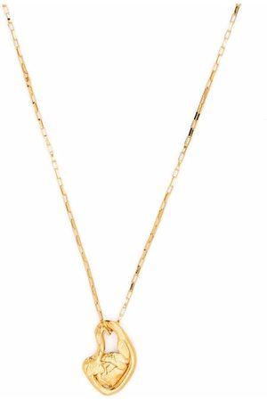 Alighieri Sculptural-pendant chain-link detail necklace