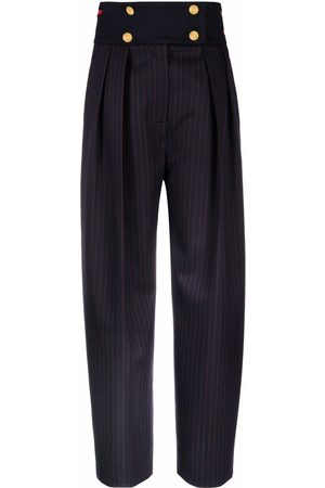Victoria Beckham High-waisted tapered tailored trousers