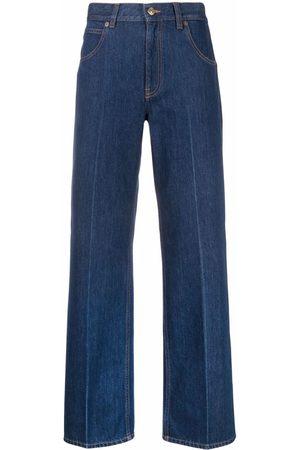 Victoria Beckham Women Straight - Romy dark wash denim jeans
