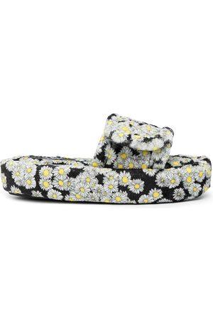 DUOltd Daisy Terry Volume slippers