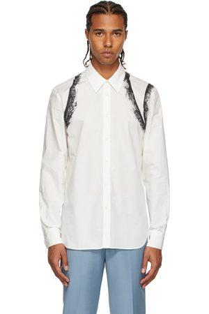 Men Shirts - Alexander McQueen & Black Lace Graphic Shirt