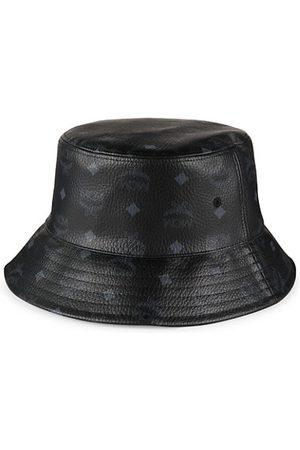 MCM Men Hats - Visetos Monogram Bucket Hat