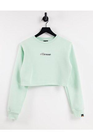 Ellesse Cropped sweatshirt in mint