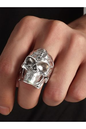 YOINS Halloween Skull Punk Ring