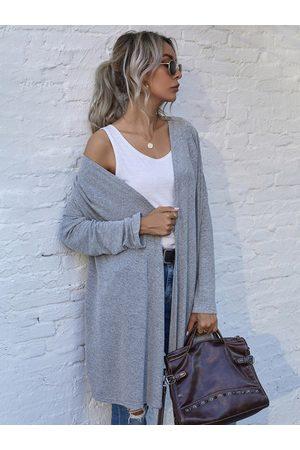 YOINS Loose Fit Simple Design Long Sleeves Cardigan