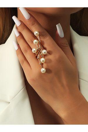 YOINS Pearl Geometric Ring