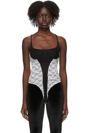 Kathryn Bowen & Lace Tank Bodysuit