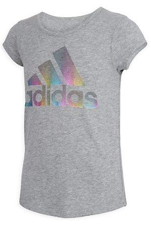 adidas Little Girl's & Girl's Multicolor Logo Graphic T-Shirt