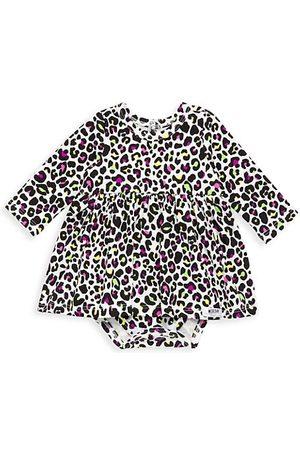 Worthy Threads Baby's & Little Girl's Cheetah Print Bubble Romper