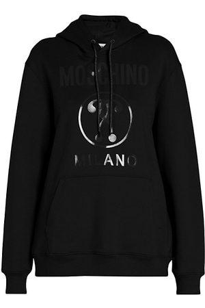 Moschino Tonal Logo Hoodie