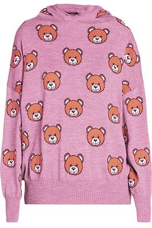 Moschino Women Jumpers - Bear Pullover Hoodie