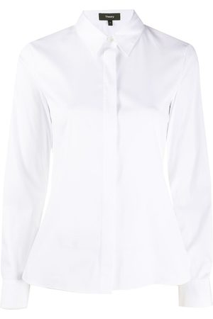 THEORY Women Long Sleeve - Fitted long-sleeve shirt