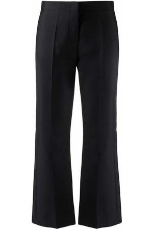 Jil Sander Women Wide Leg Pants - Cropped flared trousers