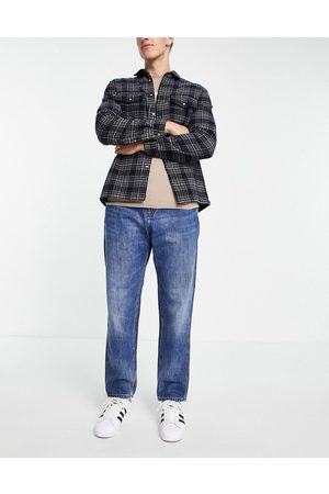 Carhartt Men Straight - Jacob relaxed straight jeans in mid wash