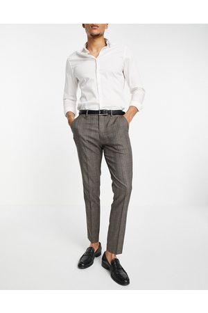 SELECTED Men Skinny Pants - Suit trouser in skinny fit check