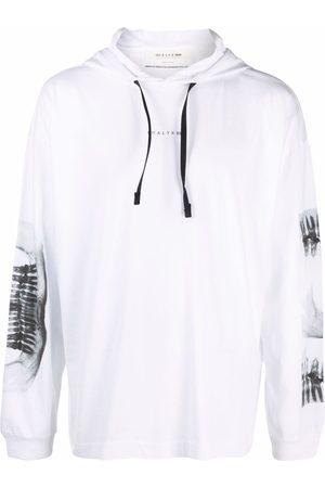 1017 ALYX 9SM Men Sweatshirts - X-ray print drawstring hoodie