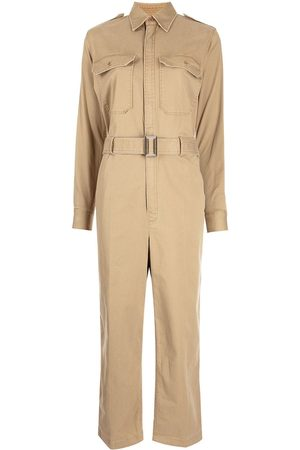 Polo Ralph Lauren Belted long-sleeved jumpsuit