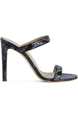 Giuseppe Zanotti Calista snakeskin-effect sandals