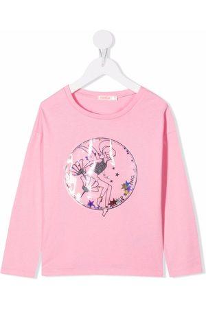 Billieblush Graphic-print cotton T-shirt