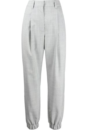 Brunello Cucinelli Elasticated-ankle trousers