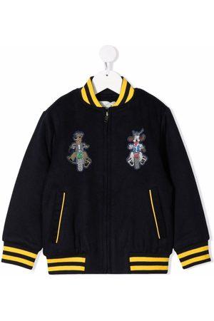 Stella McCartney Boys Bomber Jackets - Embroidered bomber jacket