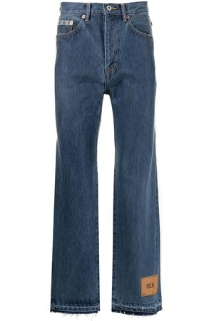 DOUBLET Bootcut cropped jeans