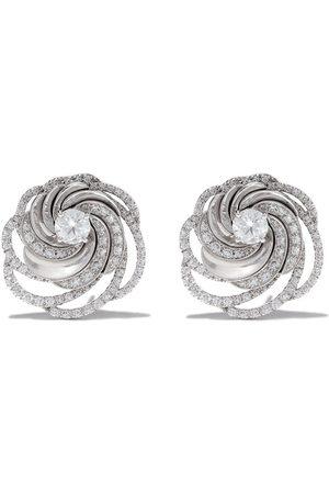 De Beers Aria diamond stud earrings