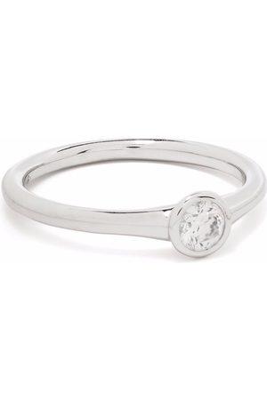COURBET 18kt white gold Origine diamond ring