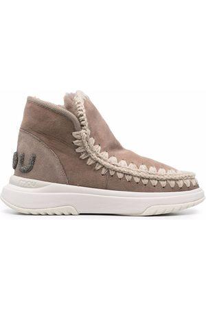 Mou Women Sneakers - Eskimo whipstich sneakers