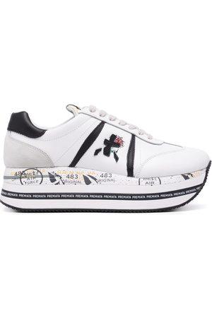 Premiata Panelled flatform sneakers