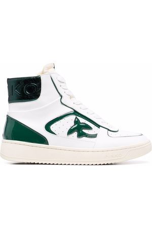 Pinko Leather high-top trainers