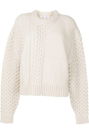 PROENZA SCHOULER WHITE LABEL Mix-knit wool-blend jumper