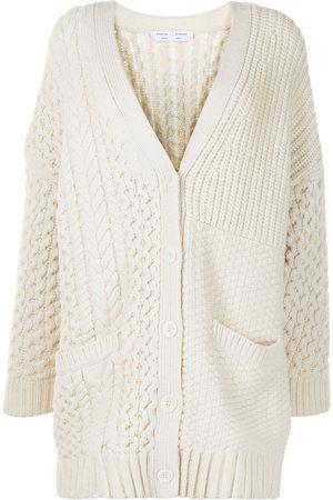 PROENZA SCHOULER WHITE LABEL Chunky-knit cardi-coat