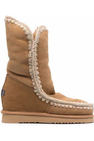 Mou Chunky sheepskin boots