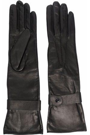 Manokhi Women Gloves - Longline leather gloves