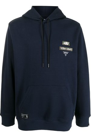 Izzue Logo patch hoodie